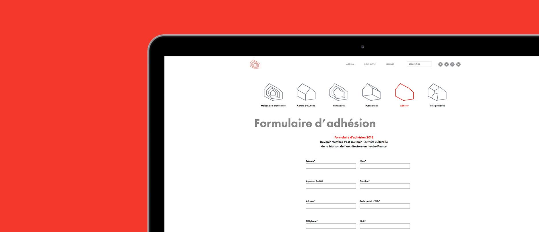 MDA formulaire