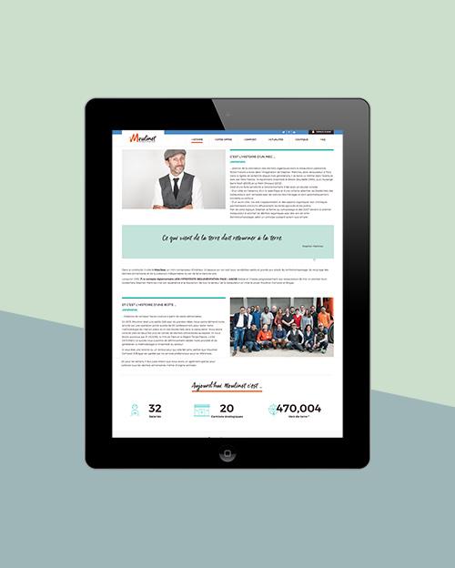 Moulinot site web